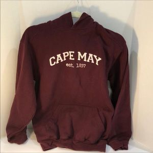 Other - Cape May Burgundy Hoody